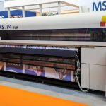 New MS JP4 Evolution demonstrated by MS Printing Solutions